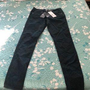 NWT Paige Paisley Print Jeans Size 26